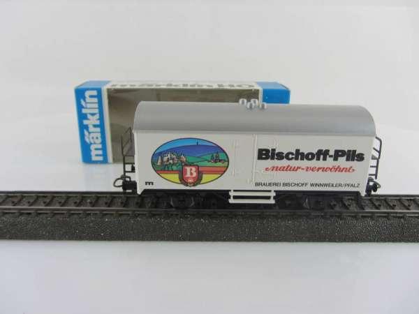 Märklin Basis 4415 Bierwagen Bischoff Pils Sondermodell neuwertig mit Verpackung