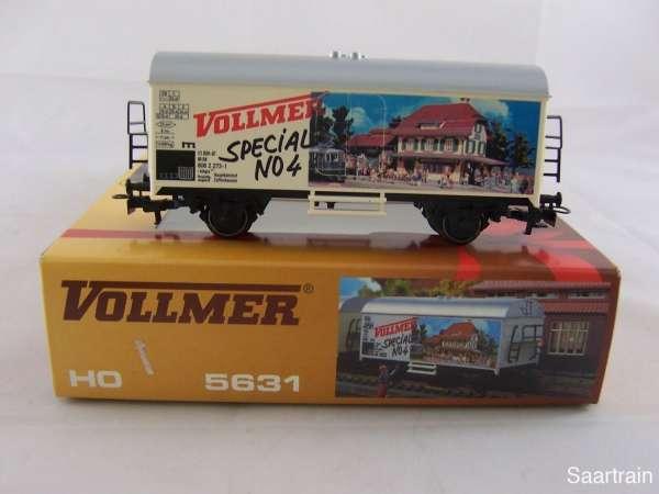 Märklin Basis 4415 Werbewagen Vollmer Special No 4 neuwertig mit Verpackung