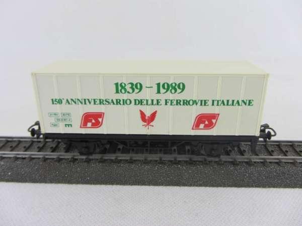 Märklin Basis 4481 Containerwagen FS Italien 1989 gebraucht ohne Verpackung