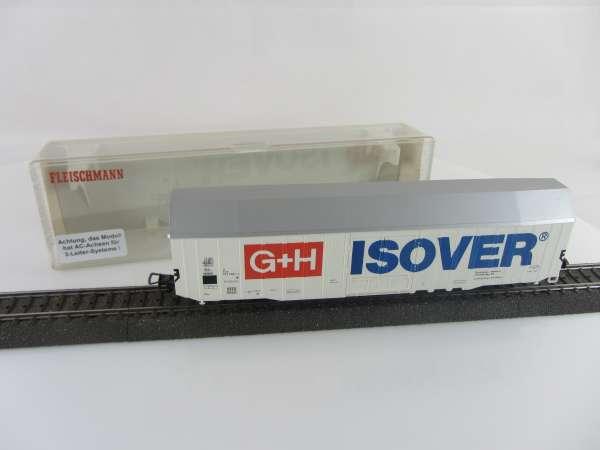 Fleischmann 5378 Güterwagen G+H ISOVER mit AC-Achsen und OVP