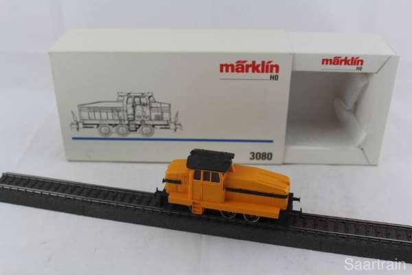 Märklin 3080 Diesellok DHG 500 gelb gebraucht mit OVP