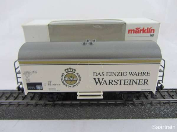 Märklin 4417 Bierwagen Warsteiner Bier Neuwertig und mit Originalverpackung