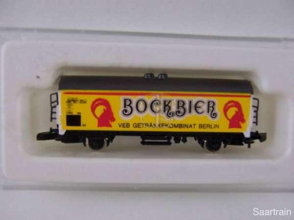 Märklin 8600 Bierwagen Sondermodell Berliner Bock Bier VEB Getränkekombinat