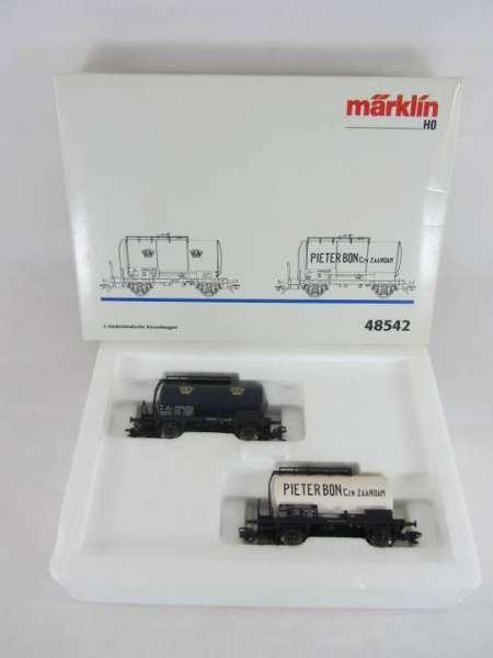 Märklin 48542 Kesselwagen-Set Holand 2 Wagen mit Originalverpackung