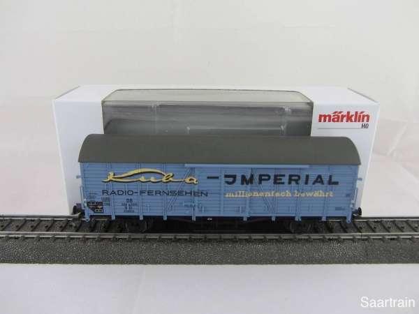 Märklin Insiderwagen 2011 48161 Imperial Radio Fernsehen m. Originalverpackung