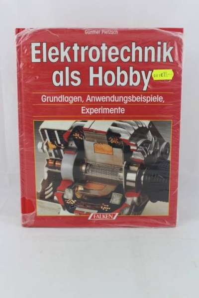 "Eisenbahnbuch ""Elektrotechnik als Hobby"" Günther Pietzsch, Falken-Verlag"