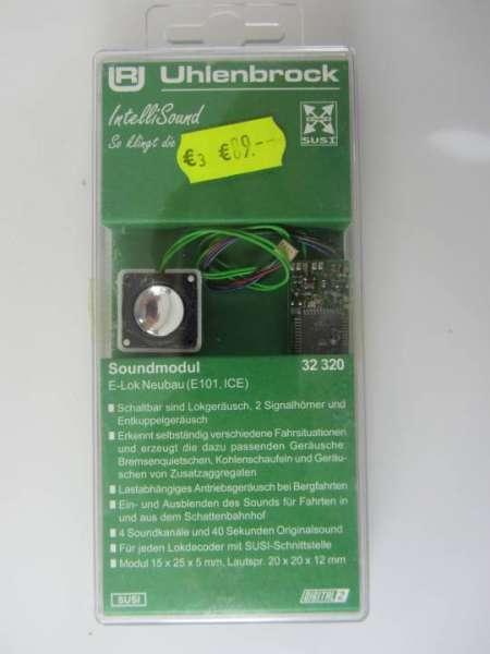 Uhlenbrock 32320 Soundmodul (Decoder mit Lautsprecher) neu und originalverpackt