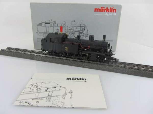 Märklin 37131 Dampflokomotive Eb 3/5 der SBB DIGITAL, sehr gut und mit OVP