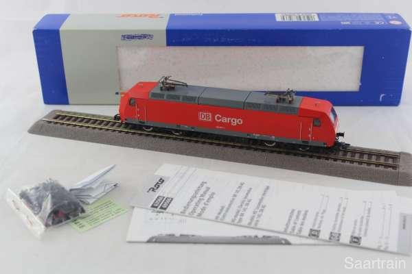 ROCO 63560 Elektrolokomotive 145 007 1 der DB Cargo in rot Digital neuwertig und mit Verpackung