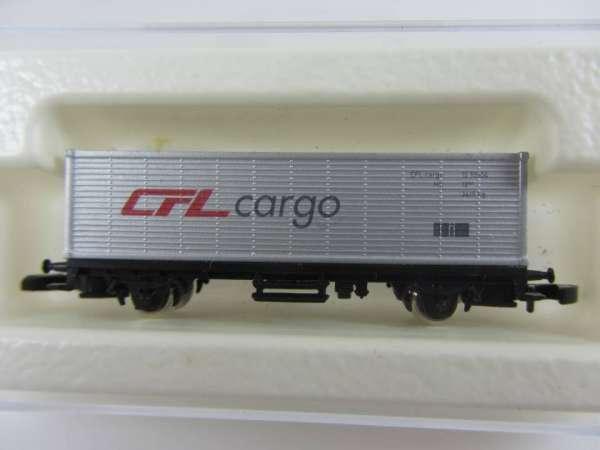 8615 Containerwagen Sondermodell CFL Cargo silbern mit Originalverpackung