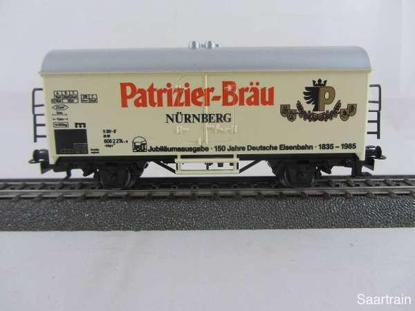 Märklin Basis 4415 Bierwagen Patrizier Bräu Nürnberg gebraucht ohne Verpackung