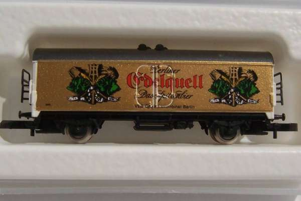 Märklin 8600 Bierwagen Sondermodell Berliner Edelquell das Spitzenbier mit Box