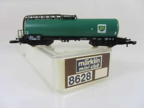 Märklin 8628 Kesselwagen BP grün 4-achsig sehr guter Zustand mit OVP