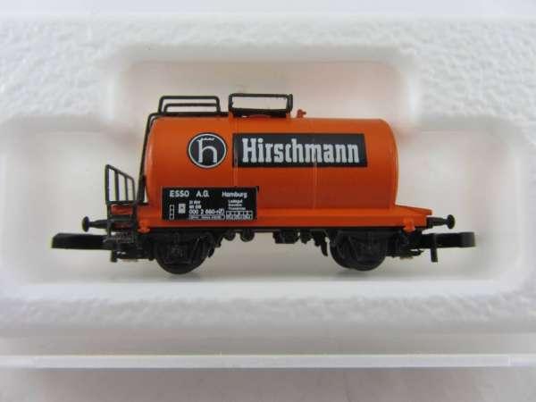 Märklin 8612 Kesselwagen 2 achsig Hirschmann aus Startset mit Verpackung