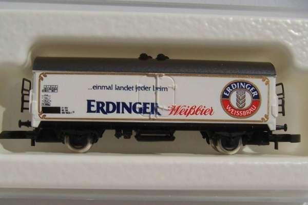 8600 Bierwagen Sondermodell Erdinger Weißbier mit Originalverpackung