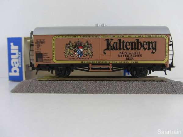 Baur Nr. 170 HO Bierwagen Kaltenberg Bier braun Neu mit Originalverpackung