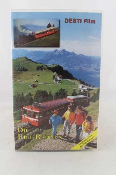 Eisenbahn Video, Die Rigi-Bahnen, Desti-Film