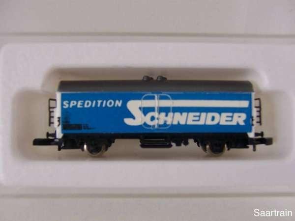 8600 Kühlwagen Spedition Schneider sehr alt mit Originalverpackung