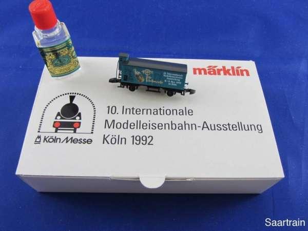 Märklin Sondermodell Messewagen G10 Basis 8661 4711 Messe Köln 1992 mit OVP