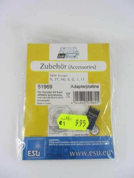 ESU 51969 Adapterplatine neu und originalverpackt