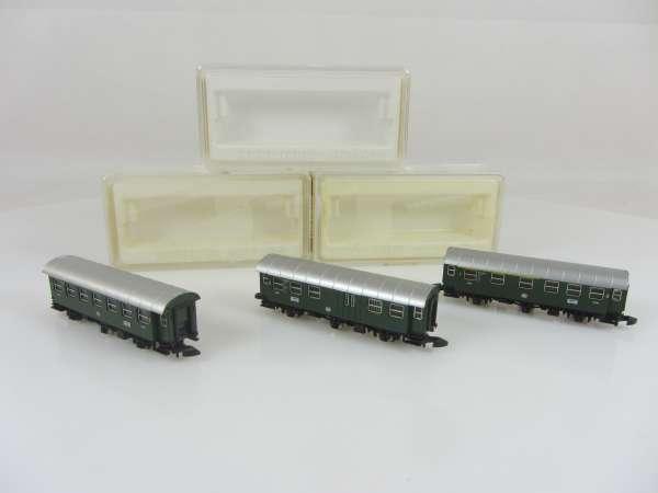 Märklin 8706,8707 und 8708 Personenwagen-Set Umbauwagen (II) sehr gut mit OVP