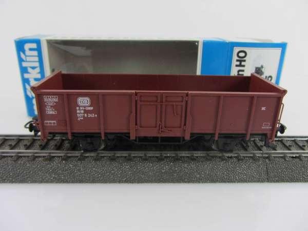 Märklin 4465 offener Güterwagen der DB Braun neuwertig mit Originalverpackung