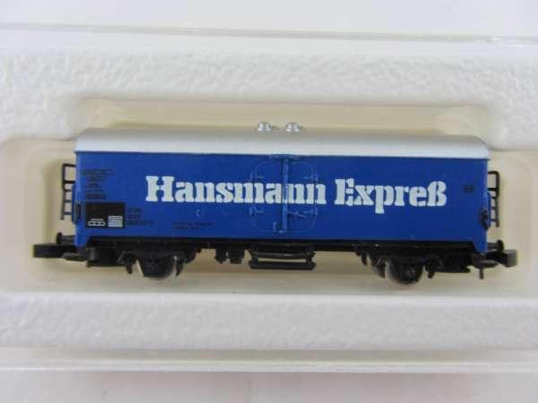 Märklin 8600 Kühlwagen Sondermodell Hansmann Express mit Box, Rarität