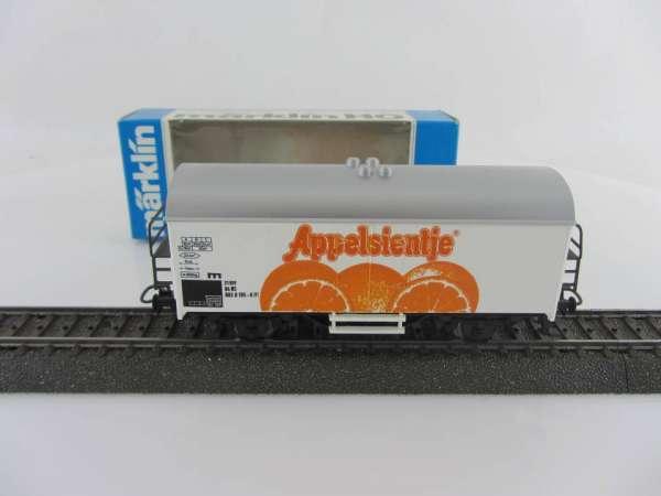 Märklin Basis 4415 Werbewagen Appelsientje Holland Sondermodell, neu und mit OVP