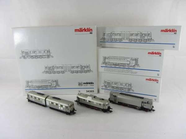 Märklin 34203 Diesellokomotiven Set 'Urahnen der Diesel Traktion' 3 Loks mit OVP