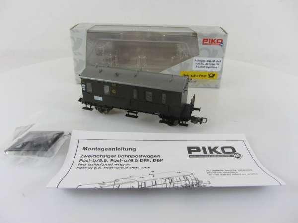 PIKO 5459 2/10 Postwagen Bahnpostwagen neuwertig mit Verpackung, AC-Achsen