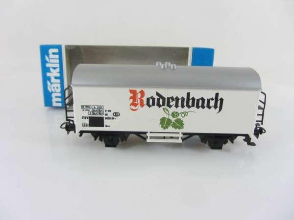 Märklin Basis 4415 Bierwagen Rodenbach Belgien, SOMO neuwertig mit OVP