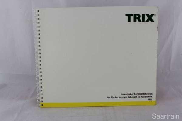 "Trix ""Sortimentskatalog für den Fachhandel 1997"""