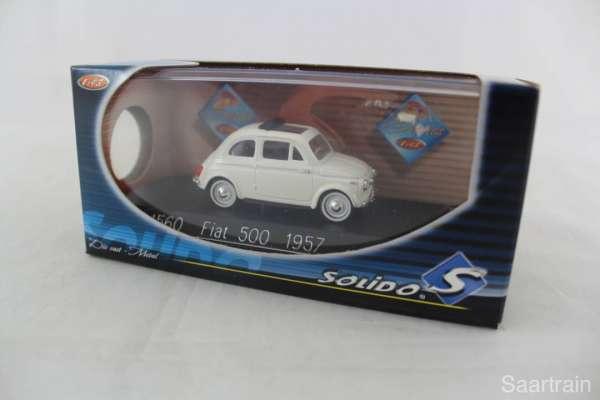 1:43 Solido 4560 Fiat 500 1957