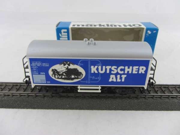 Märklin Basis 4415 Bierwagen Kutscher Alt Bier Sondermodell, neu und mit OVP