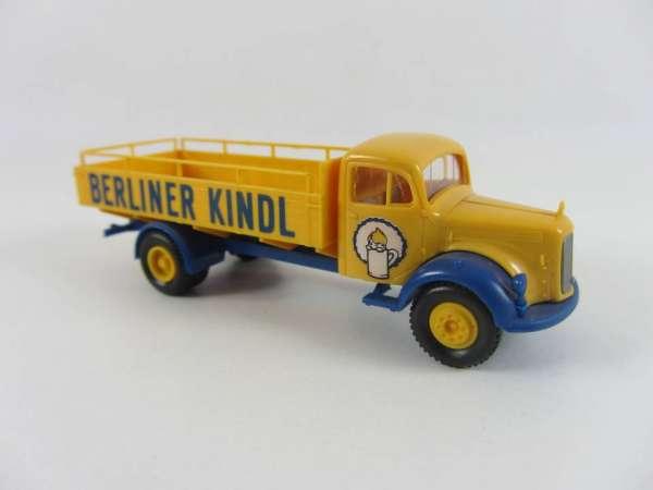 Brekina 1:87 Bier-LKW Mercedes Berliner Kindl, sehr guter Zustand, mit OVP