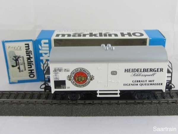 Basis 4415 Bierwagen Heidelberger Schlossquell weiss Sondermodell Neu mit OVP