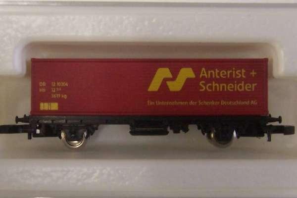8615 Containerwagen Sondermodell Anterist und Schneider mit Originalverpackung