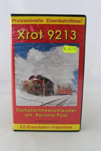 Eisenbahn Video, Dampfschneeschleuder am Bernina-Pass