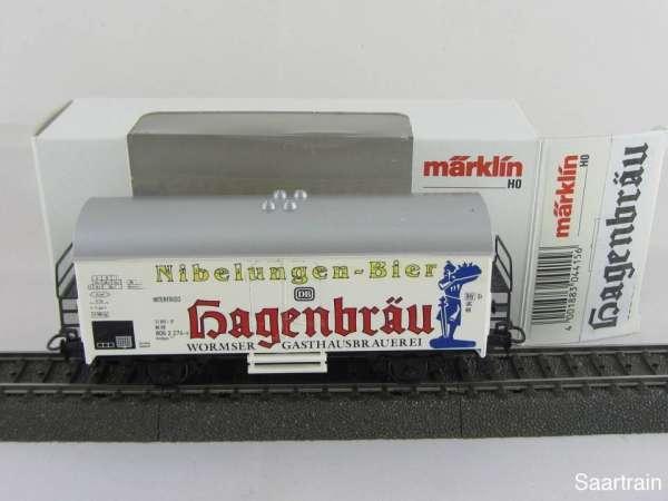 Basis 4415 Bierwagen Hagenbräu Wormser Gasthausbrauerei Sondermodell mit OVP