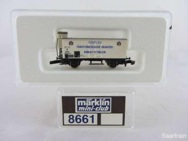 Märklin 8661 Bierwagen G10 Fürstenberg sehr guter Zustand mit Verpackung
