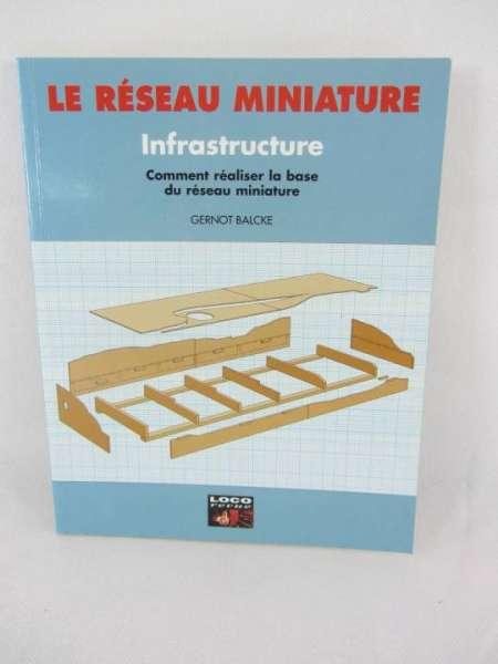 """Eisenbahnbuch """"Le Reseau Miniature"""" No.5 französisches Buch über Anlagenbau"""