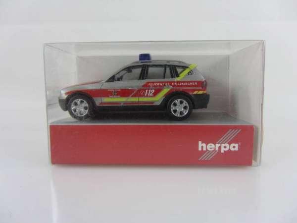 HERPA 48408 1:87 BMW X3 TM Feuerwehr neu mit OVP