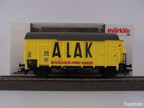 Märklin Insiderwagen 2010 48160 ALAX Spangenberg Werke mit Originalverpackung