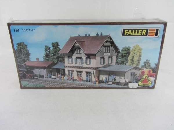 Faller 110107 Bausatz 1:87 HO Bahnhof neu mit OVP