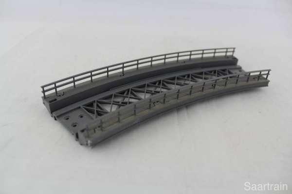 Märklin 7569 gebogenes Rampenstück für K- und M-Gleis, guter Zustand