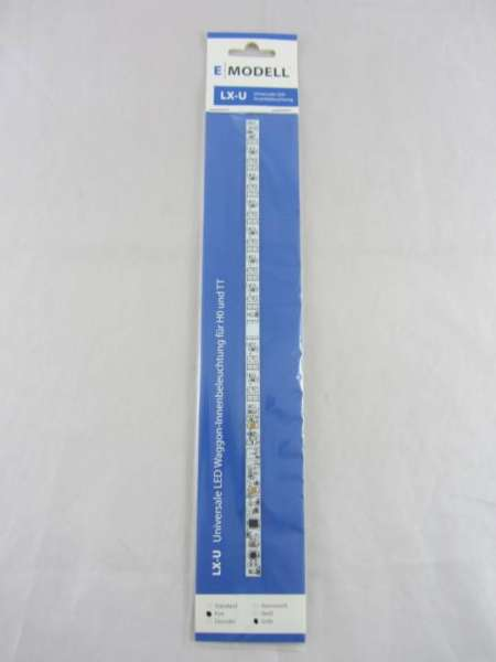 E Modell 31017 LX U LED Innenbeleuchtung für HO Wagen Neu und Originalverpackt