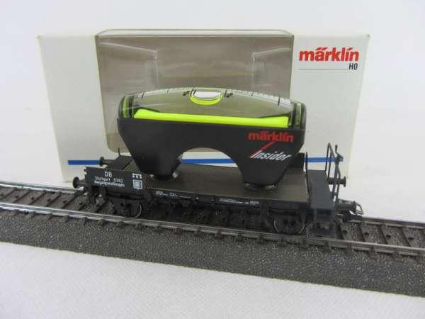 Märklin Insiderwagen 5 Jahre 46582 Neigungsmeßwagen mit Originalverpackung