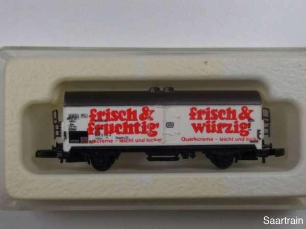 8600 Kühlwagen F&W Quarkcreme sehr alt mit Originalverpackung