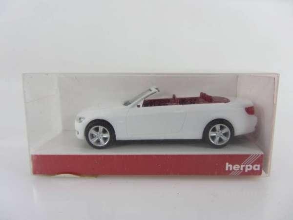 HERPA 23764 1:87 BMW 3er Cabrio weiss neu mit OVP