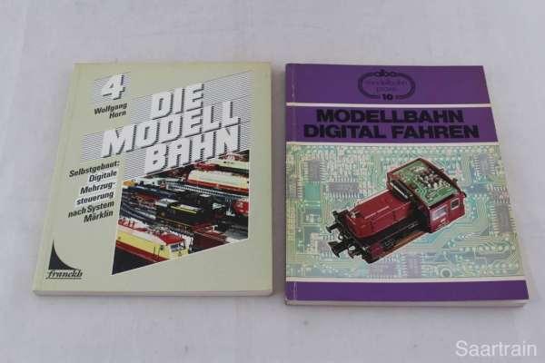 2 Eisenbahnbücher über DIGITAL-Modelleisenbahnen, gebraucht